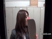 OLの生着替えをかくしどりする個人撮影投稿動画像無料